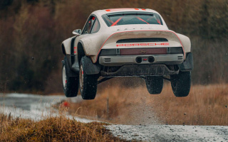 Porsche created an all-terrain vehicle from a classic sports car