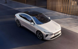 NIO electric car has a range of more than 1,000 km