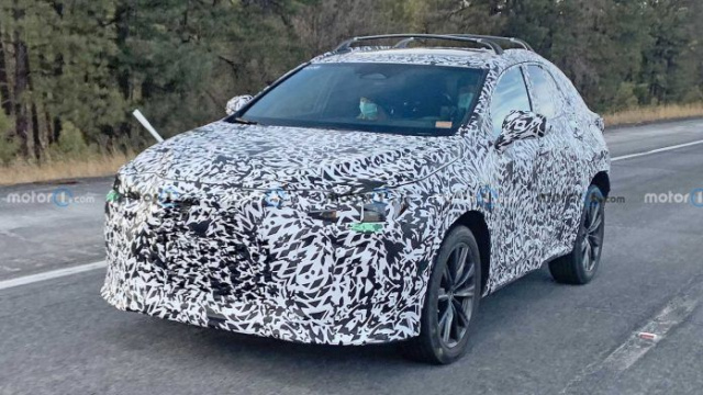 Second-generation Lexus NX is being tested