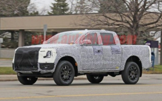 First tests start for the new Ford Ranger
