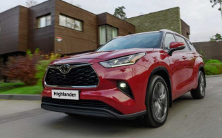 Updated Toyota Highlander begins sales in Europe