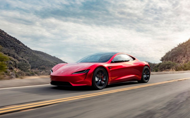 Latest Tesla Roadster unveiled