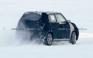 Hyundai's smallest crossover caught on test