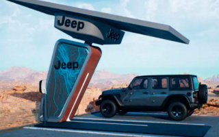 Jeep Wrangler powered by electricity will appear in honor of its 80th anniversary