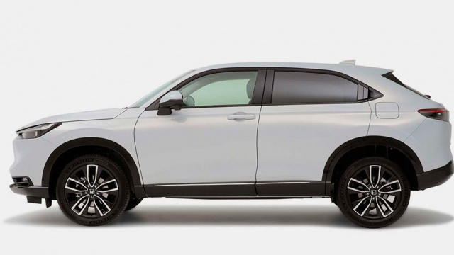 Honda HR-V crossover officially unveiled