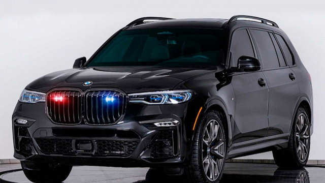 BMW X7 crossover turned into a real armored car (VIDEO)