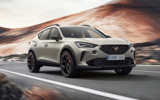 Cupra Formentor VZ5 crossover officially debuted