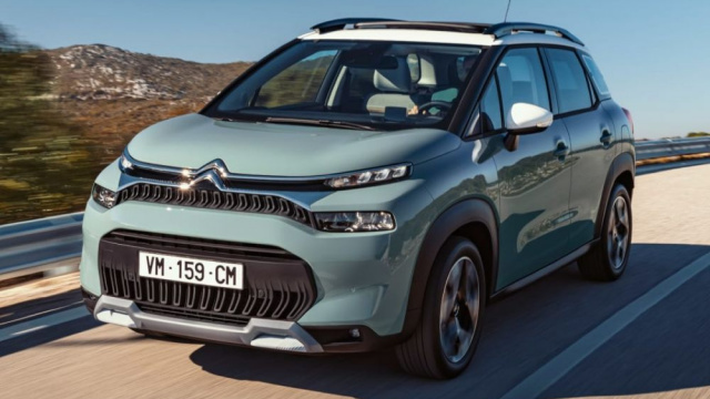 Photos of Citroen's updated C3 Aircross crossover have appeared
