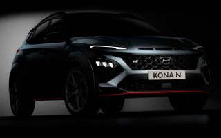 Hyundai Kona sports version declassified by design