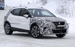 Updated Seat Arona appeared on tests