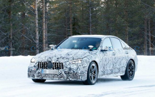 Mercedes-AMG C63 new generation appeared on tests