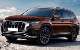 That could be the new Audi Q9 crossover