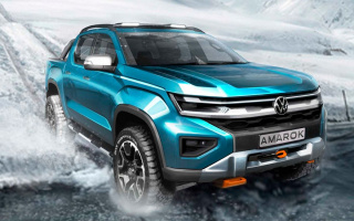 This is what the new Volkswagen Amarok will look like