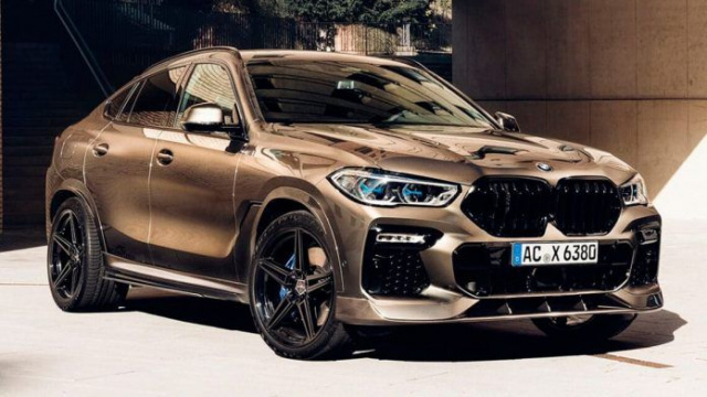 "BMW X6 crossover became ""gold"" thanks to AC Schnitzer"