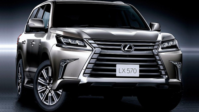 New huge Lexus LX will premiere at the end of 2021