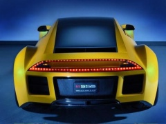 Saleen Constructing «S8» Ultra-car pic #2159