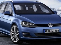 Volkswagen Golf wagon leaked