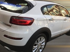 Qoros 3 City SUV Spied Fully Unscreened pic #3937