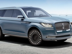 First Look of the 2018 Lincoln Navigator Concept pic #5087