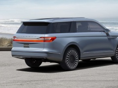 First Look of the 2018 Lincoln Navigator Concept pic #5088