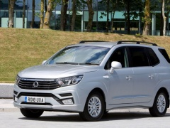 Restyled SsangYong Turismo in the serial view
