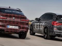 BMW showed new X3 M and X4 M for the first time