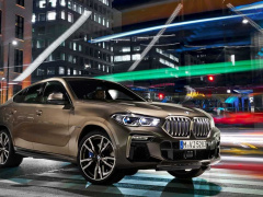New BMW X6 officially debuted