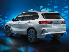 BMW X5 became a hydrogen car