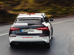 The new Audi S3 Sportback showed on official photos