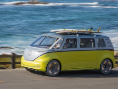 New Volkswagen Microbus will appear in Germany from 2022