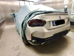 The latest BMW 2-Series Coupe declassified in the first photo