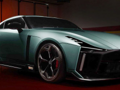 Nissan and Italdesign make serial supercar for 1 million euros