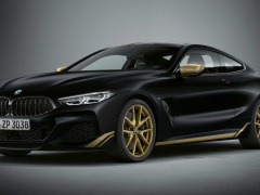 BMW 8-series will receive a gold design