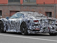 New Maserati sports car photographed for the first time in tests