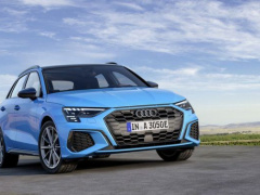 The new Audi A3 Sportback became a hybrid pic #6483