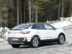 Paparazzi spotted on tests Volkswagen ID.5 SUV