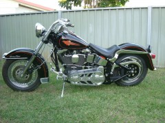 harley-davidson flstc heritage softail classic pic #22217
