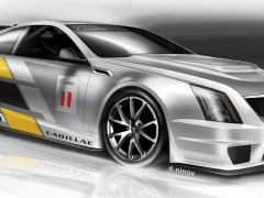 Cadillac CTS-V Racing Coupe pic
