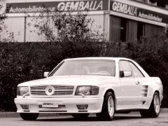 gemballa mercedes-benz 500sec widebody (c126) pic #80982