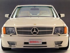 gemballa mercedes-benz 500sec widebody (c126) pic #80983