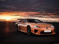 lexus lfa nurburgring package pic #112536