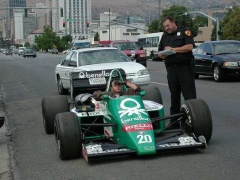 benetton f1 race car pic #20047