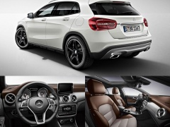 Mercedes-Benz GLA Edition 1 pic