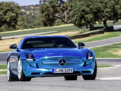 mercedes-benz sls amg coupe electric drive pic #109179