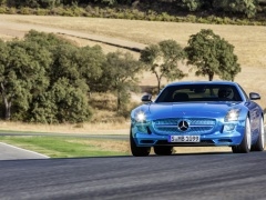 mercedes-benz sls amg coupe electric drive pic #109180