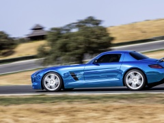 mercedes-benz sls amg coupe electric drive pic #109181