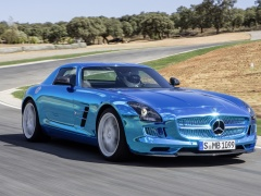 mercedes-benz sls amg coupe electric drive pic #109182