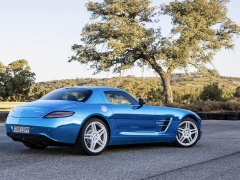 mercedes-benz sls amg coupe electric drive pic #109183