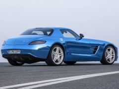 mercedes-benz sls amg coupe electric drive pic #109184