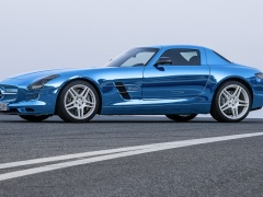 mercedes-benz sls amg coupe electric drive pic #109186